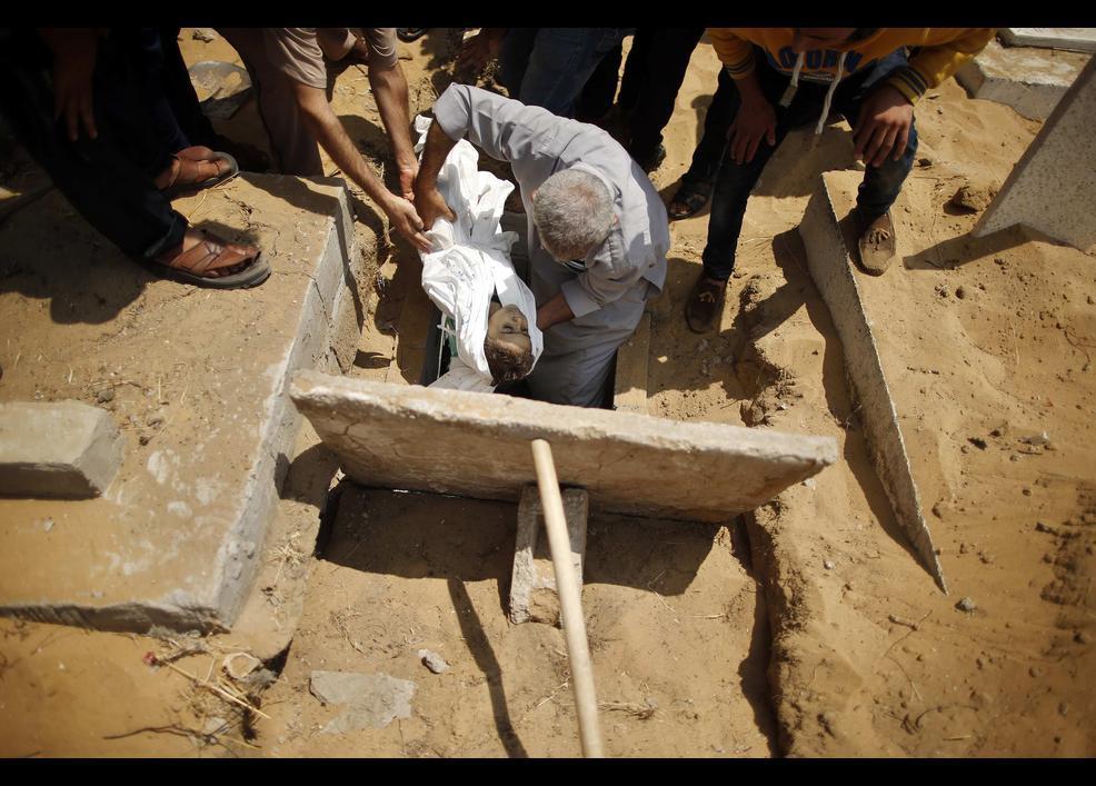 Gazze'de katliam sürüyor 1