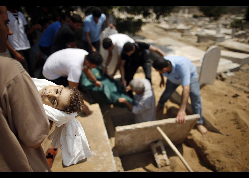 Gazze'de katliam sürüyor 12