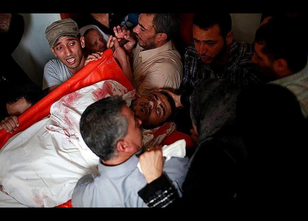 Gazze'de katliam sürüyor 35
