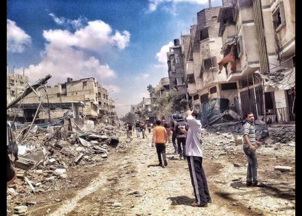 Gazze'de katliam sürüyor 42