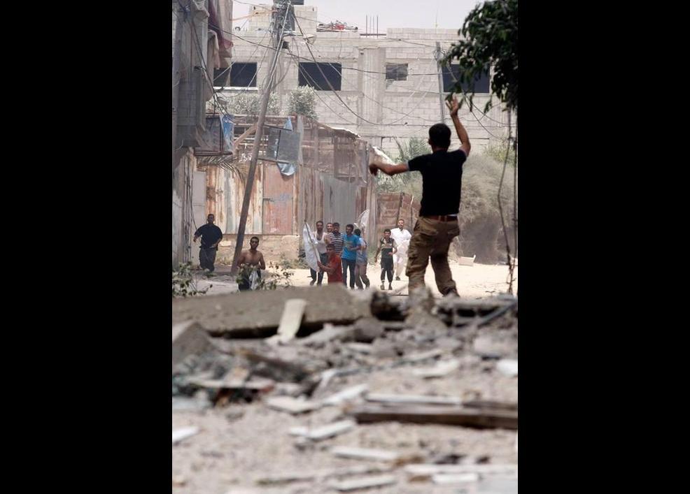 Gazze'de katliam sürüyor 43