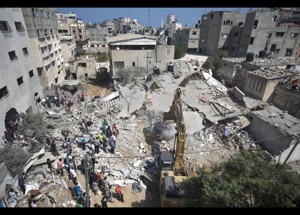 Gazze'de katliam sürüyor 5
