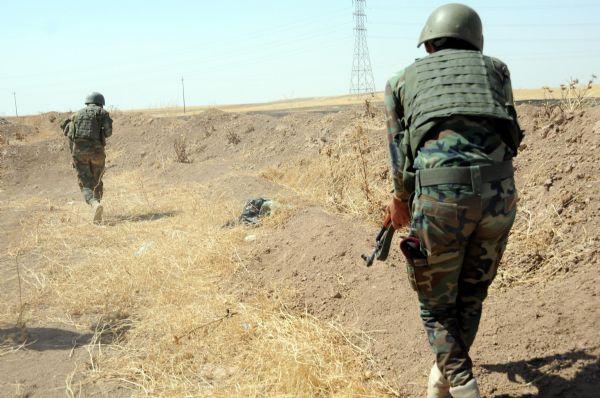 Peşmerge Şengal'e giren IŞİD üyelerine karşı taarruza geçti! 11