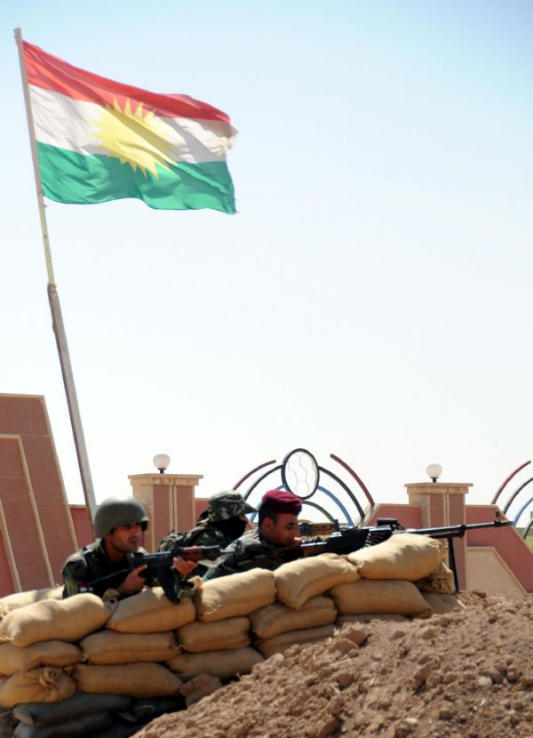Peşmerge Şengal'e giren IŞİD üyelerine karşı taarruza geçti! 14