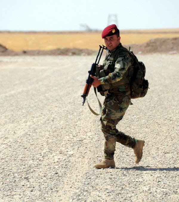 Peşmerge Şengal'e giren IŞİD üyelerine karşı taarruza geçti! 17