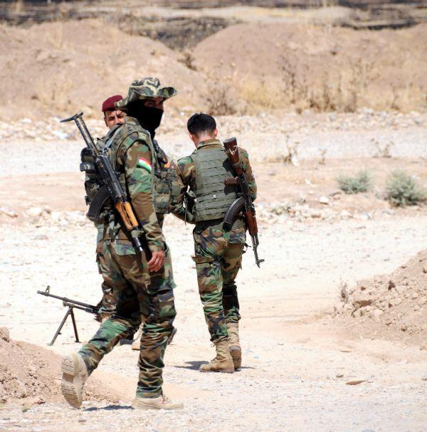 Peşmerge Şengal'e giren IŞİD üyelerine karşı taarruza geçti! 19