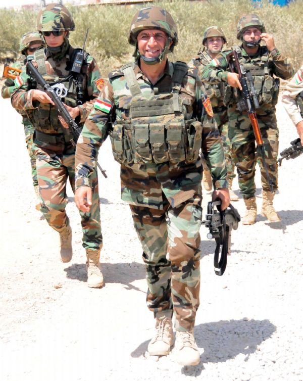 Peşmerge Şengal'e giren IŞİD üyelerine karşı taarruza geçti! 2