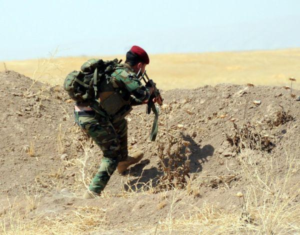 Peşmerge Şengal'e giren IŞİD üyelerine karşı taarruza geçti! 6