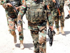 Peşmerge Şengal'e giren IŞİD üyelerine karşı taarruza geçti!