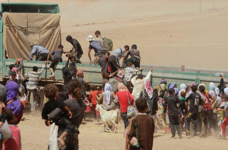 Êzidîler'in IŞİD Teröründen Kaçışı 1