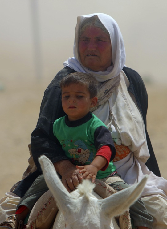 Êzidîler'in IŞİD Teröründen Kaçışı 11