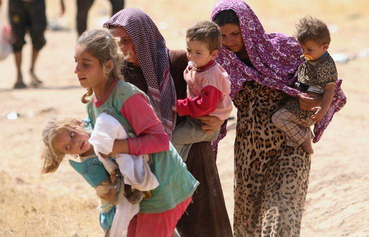Êzidîler'in IŞİD Teröründen Kaçışı 12