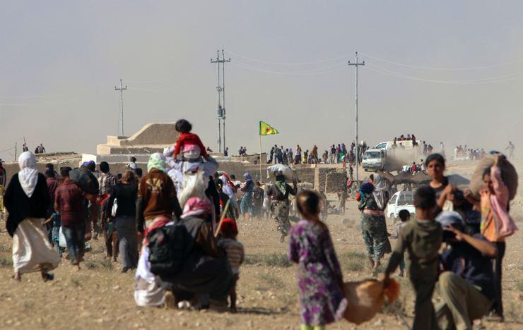Êzidîler'in IŞİD Teröründen Kaçışı 13