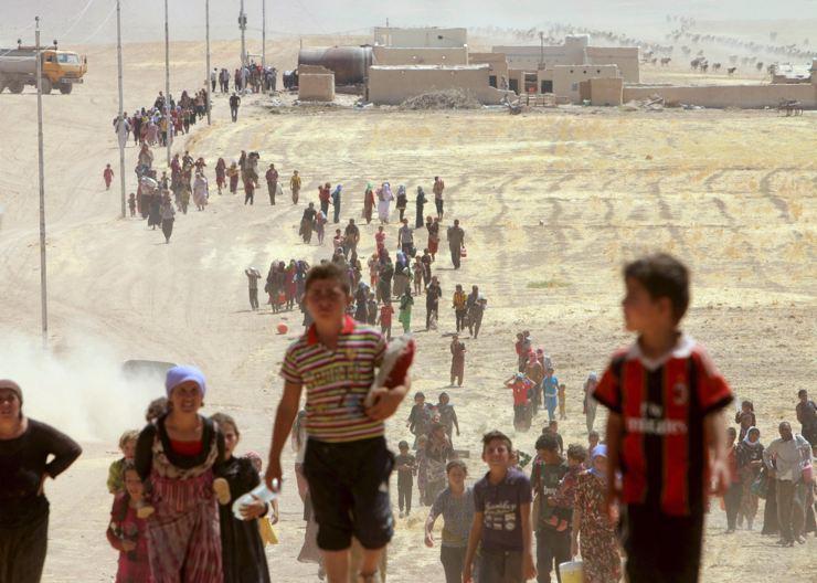 Êzidîler'in IŞİD Teröründen Kaçışı 2