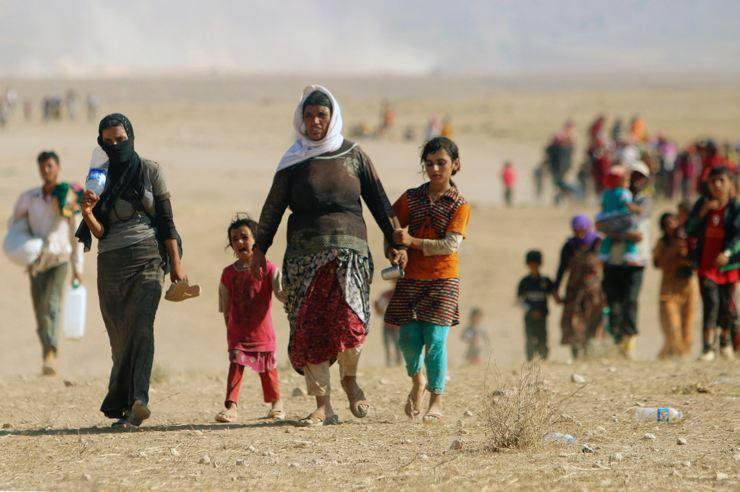 Êzidîler'in IŞİD Teröründen Kaçışı 21
