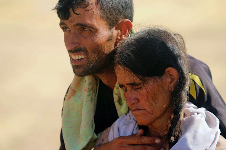 Êzidîler'in IŞİD Teröründen Kaçışı 23