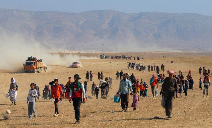 Êzidîler'in IŞİD Teröründen Kaçışı 24