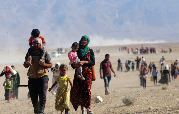 Êzidîler'in IŞİD Teröründen Kaçışı 25