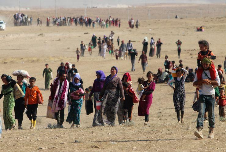 Êzidîler'in IŞİD Teröründen Kaçışı 26