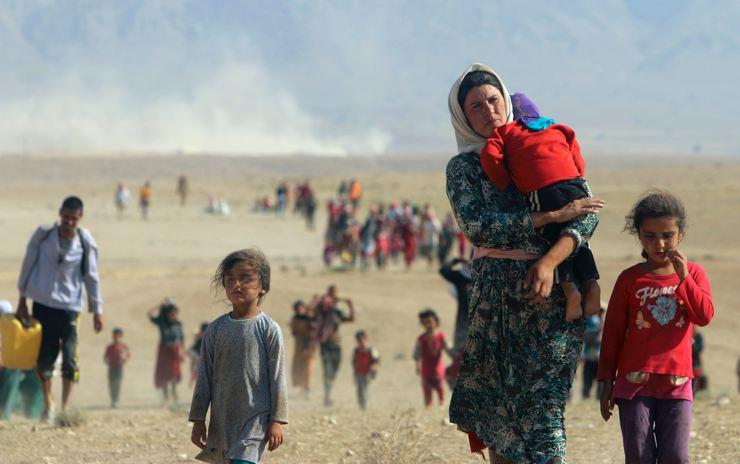Êzidîler'in IŞİD Teröründen Kaçışı 27