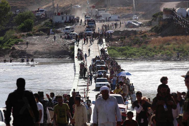 Êzidîler'in IŞİD Teröründen Kaçışı 28