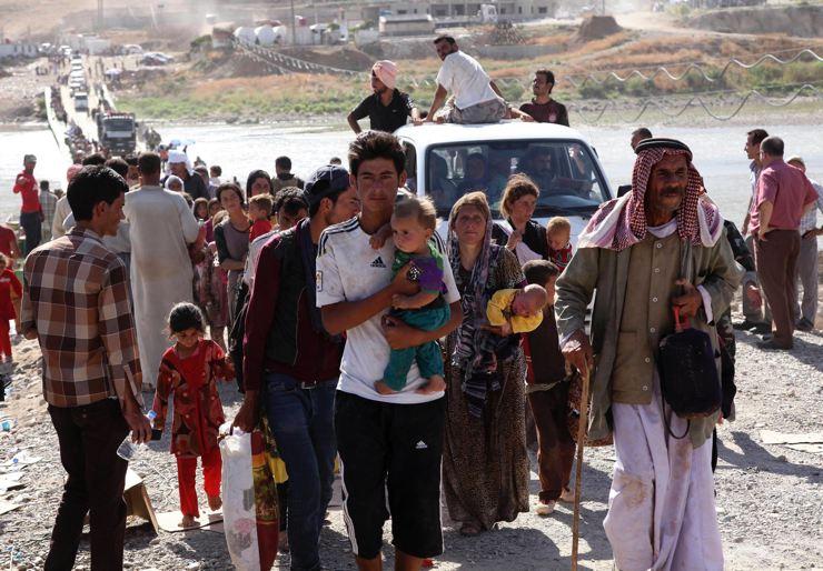 Êzidîler'in IŞİD Teröründen Kaçışı 29