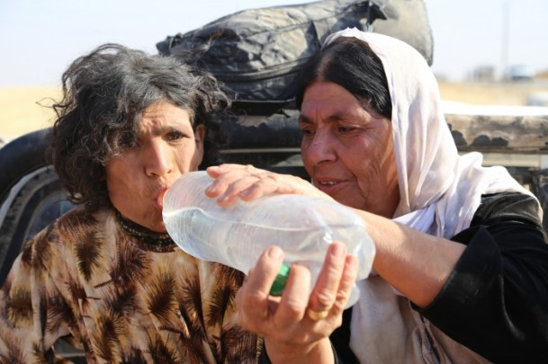 Êzidîler'in IŞİD Teröründen Kaçışı 30