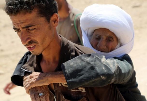 Êzidîler'in IŞİD Teröründen Kaçışı 31