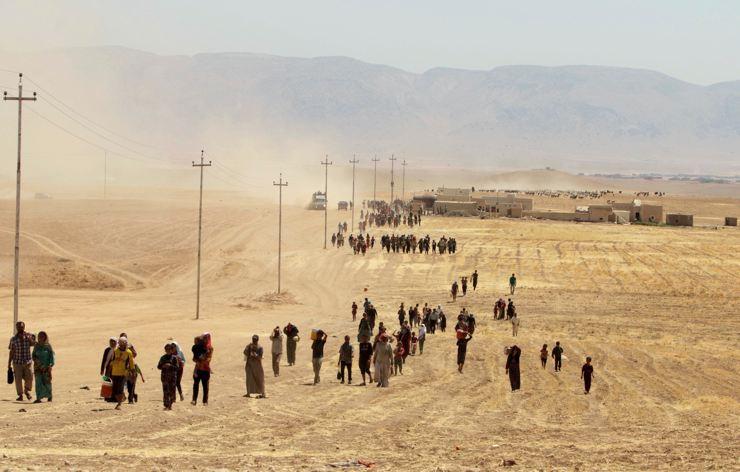 Êzidîler'in IŞİD Teröründen Kaçışı 4