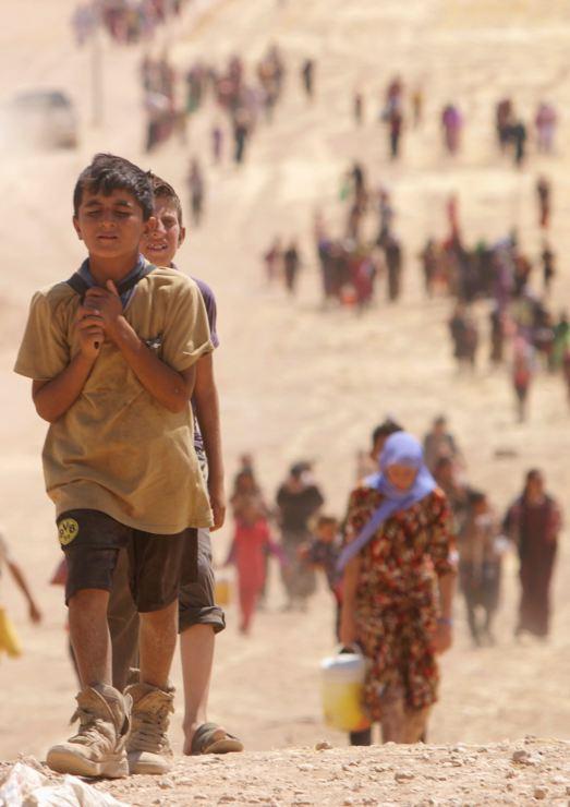 Êzidîler'in IŞİD Teröründen Kaçışı 5