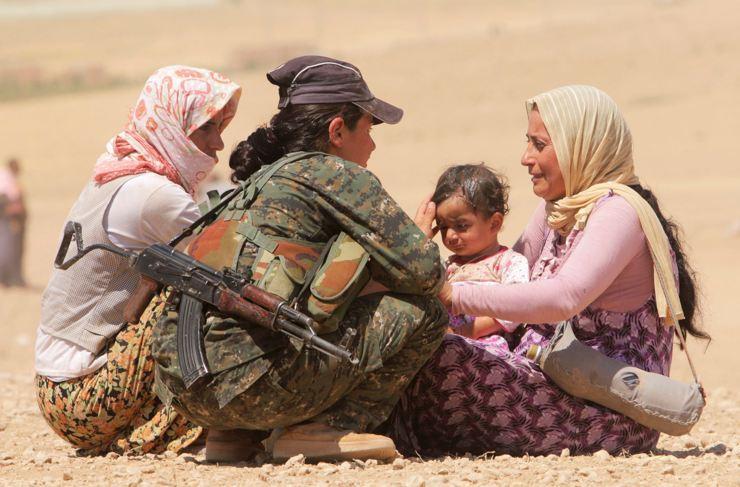 Êzidîler'in IŞİD Teröründen Kaçışı 6