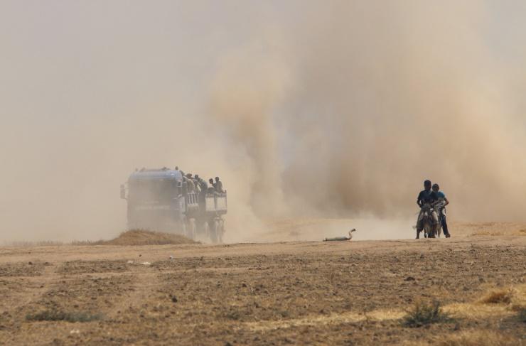 Êzidîler'in IŞİD Teröründen Kaçışı 9