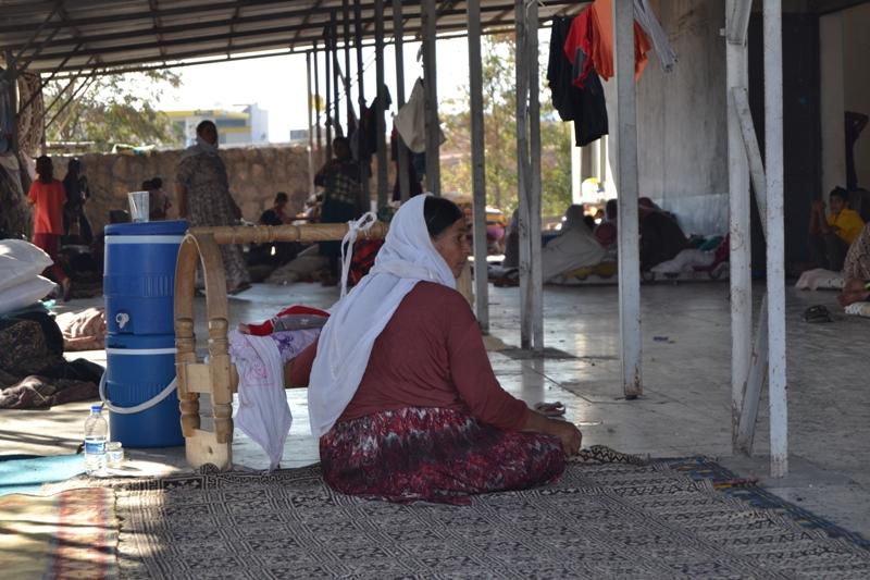 Şırnak'taki Ezidi Kampına Yardım 15
