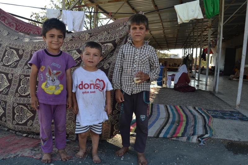 Şırnak'taki Ezidi Kampına Yardım 16