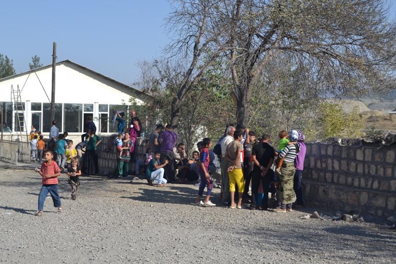 Şırnak'taki Ezidi Kampına Yardım 19