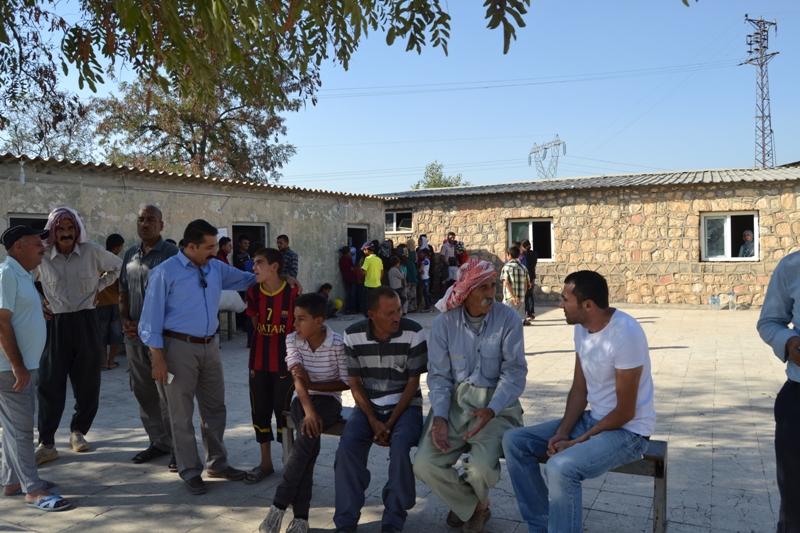 Şırnak'taki Ezidi Kampına Yardım 20