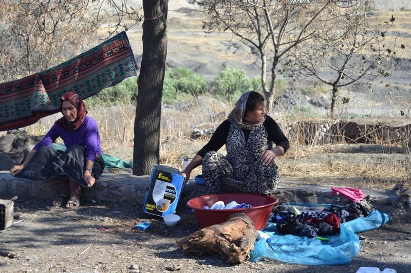 Şırnak'taki Ezidi Kampına Yardım 22