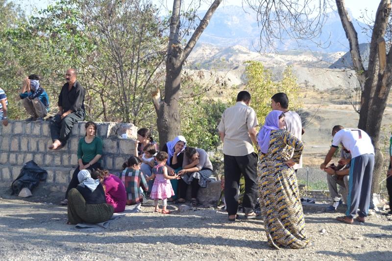 Şırnak'taki Ezidi Kampına Yardım 29