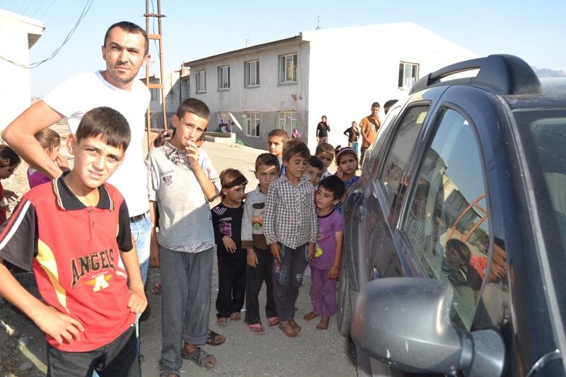 Şırnak'taki Ezidi Kampına Yardım 30