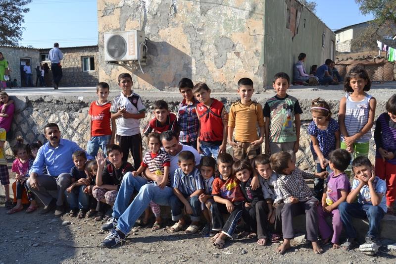 Şırnak'taki Ezidi Kampına Yardım 31