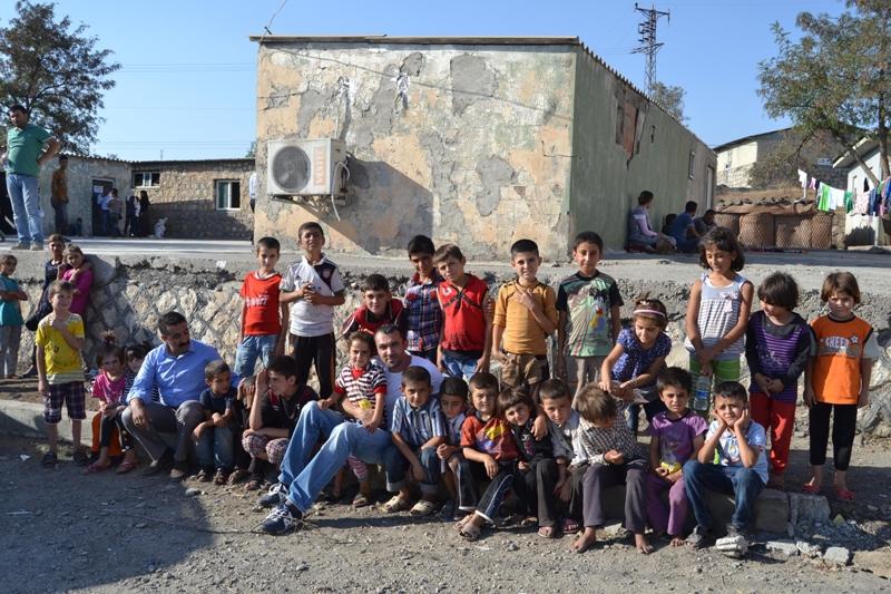 Şırnak'taki Ezidi Kampına Yardım 32