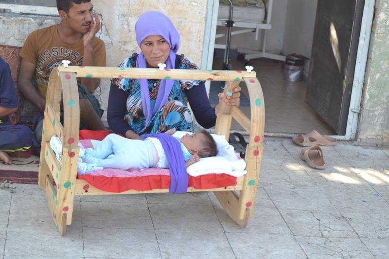 Şırnak'taki Ezidi Kampına Yardım 36