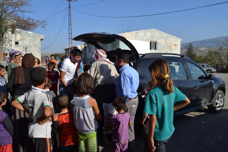 Şırnak'taki Ezidi Kampına Yardım 37