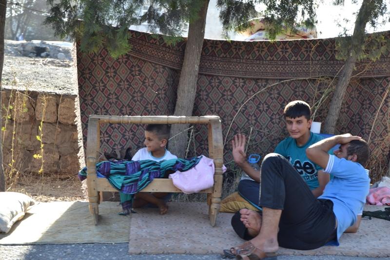 Şırnak'taki Ezidi Kampına Yardım 38