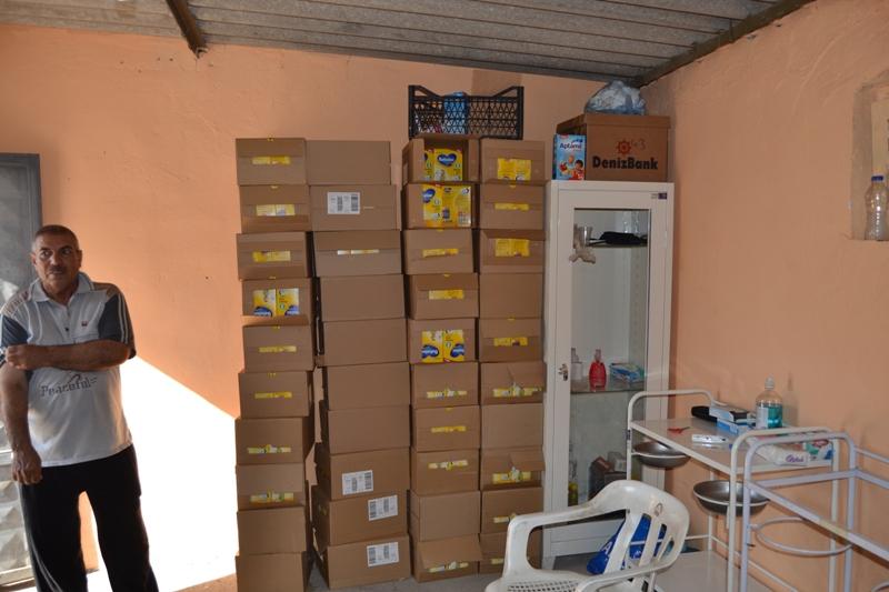 Şırnak'taki Ezidi Kampına Yardım 9