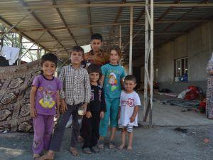 Şırnak'taki Ezidi Kampına Yardım