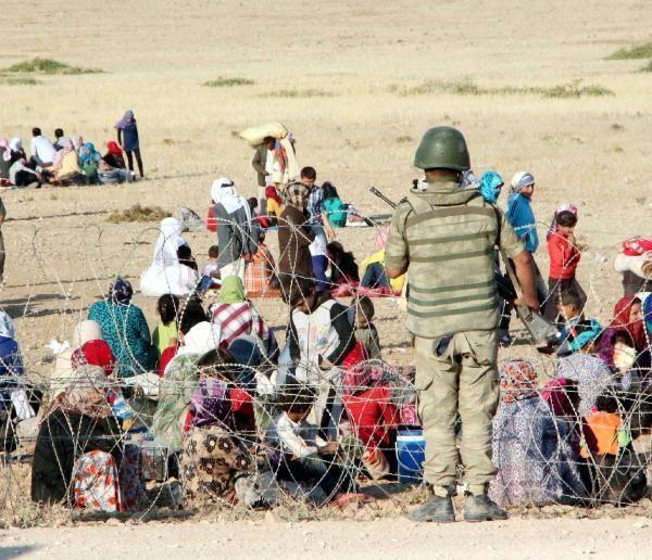 Rojava'dan Sınırlara İnsan Seli 10