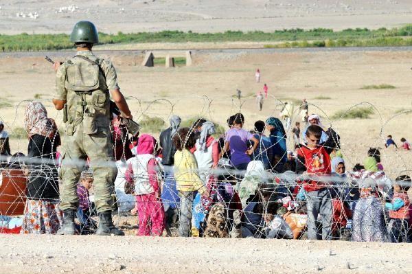 Rojava'dan Sınırlara İnsan Seli 11