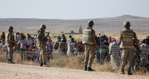 Rojava'dan Sınırlara İnsan Seli 12