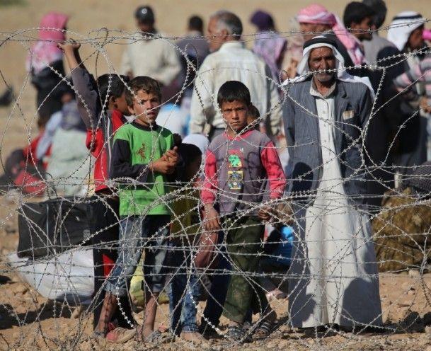 Rojava'dan Sınırlara İnsan Seli 14